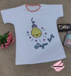 T-shirts femeninas personalizadas