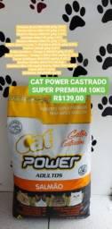 Promoção Racão Super Premium Cat Power 10kg por apenas $139,00