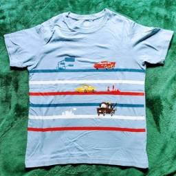 Quatro camisetas importadas Uniqlo Pixar infantil tam 11/12