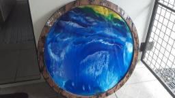 Arte na madeira