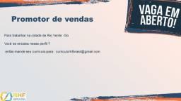 Vagas de emprego para rio verde / Goiás
