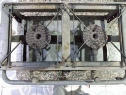 Fogão de alta pressão de ferro e panela 20 litros de alumínio