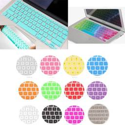 1 Capinha de Silicone Teclado Apple MacBook Air Pro iMac Notebook
