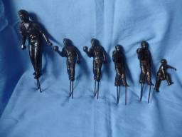 Troféus em bronze