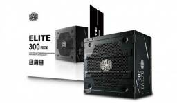 Título do anúncio: fonte atx elite v3 300w pfc ativo