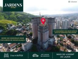 Super Apartamento 4 quartos 200m², Nova Iguaçu, More em um Resort luxuoso
