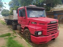 Scania 112HS com carreta random