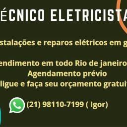 Eletricista cascadura