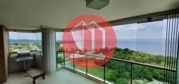 Apartamento na Ponta Negra, 195m², 4 Qtos, Mobiliado, Venda ou Locação