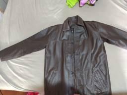 Jaqueta de couro marca cueros e cueros