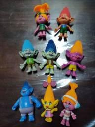 Bonecos TROLLS em miniaturas