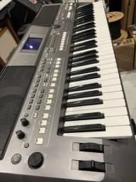 Teclado Yamaha s670 seminovo KLEBER TECLAS