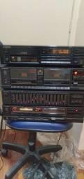 Som receiver technics 190 watts