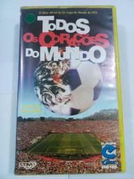 VHS Original Todos os Corações do Mundo Copa 1994