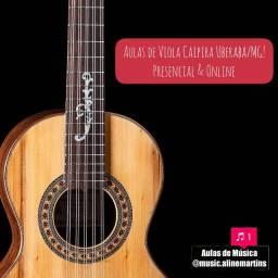 Aulas de VIOLA CAIPIRA (Presencial & Online) Uberaba-MG