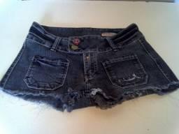 Short Jeans Feminino Carmim Autlentic Quality Tamanho número 34