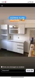 Cozinha Wanessa com balcão novo na caixa