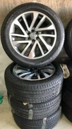 "Vendo rodas 20"" Nissan frontier é rodas 17"" vw golf"