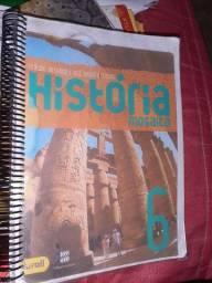 Livro de história mosaico 6 ano, editora Scipione