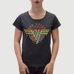 Camiseta Van Halen - Feminina - Tamanho P, G