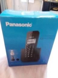 Telefone sem Fio Panasonic com Identificação de Chamadas<br>