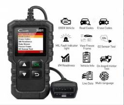 Scanner Automotivo Obd2 Cr3001 Creader