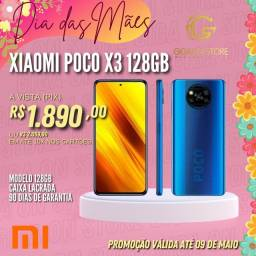 Smartphone Xiaomi Poco X3 128gb Lacrado/ Novo
