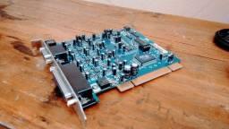 Placa de áudio - interface de áudio M-áudio Delta 1010 LT