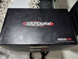 Módulo SounDigital SD 8000.1 2 ohms - EVO 2.1