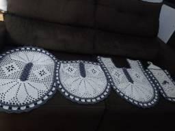 Jogos em crochê