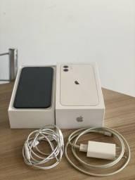 iPhone 11 64GB Branco iOS 4G Câmera 12MP