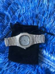 Relógio Cravejado Ice