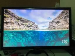 """Vendo com Defeito TV Led 27"""" Samsung Fullhd, Dtv, 1 Usb, 2 Hdmi, Vga, Controle Remoto"""