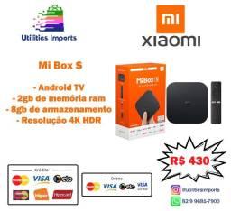 Promoção Xiaomi Mi Box S | Menor Preço da Internet