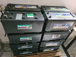 Baterias semi novas de 150ah estado de novas