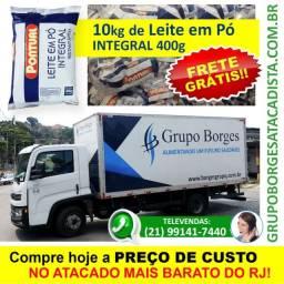 Leite em Pó Integral 400g em Atacado (Frete Grátis/RJ)