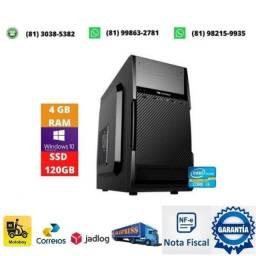 Título do anúncio: Computador i3 lga 1155 + memoria 4gb ddr3 + fonte 200w + ssd 120gb