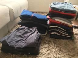 Vendo lote de roupas usadas!
