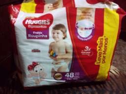 Fralda Huggies Roupinha XXG