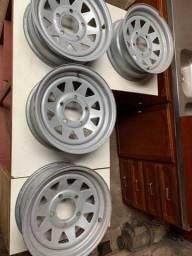Vendo rodas f1000 aro 15