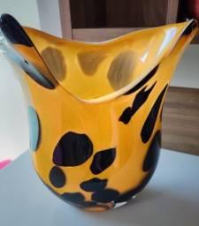 Vaso de vidro (Peça Exclusiva)