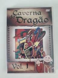 Dvd Caverna do Dragão Vol1 Original