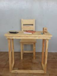 Escrivaninha + Cadeira Prime Gran Pinus