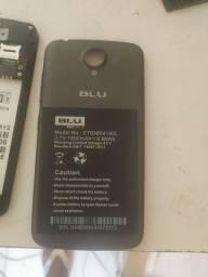 Bateria blu semi nova