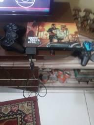 Videogame PlayStation 2 com vários jogos Usb