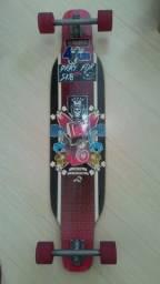 Skate Longboard (montado) com Kit Tracker de proteção e downhill (tamanho P)