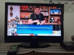 Título do anúncio: Tv 22 polegadas Semp + conversor