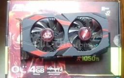 Geforce Gtx 1050ti Cerberus 4gb - Asus semi novo ( vendo ou troco)