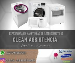 Assistência técnica de Eletrodomésticos.