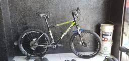 Bicicleta aro 26 quadro Mosso alumínio tamanho 18.